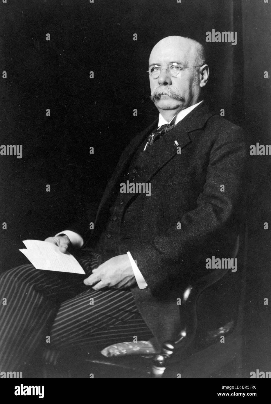 Photographie historique, ancienne, honorable monsieur, vers 1912 Photo Stock
