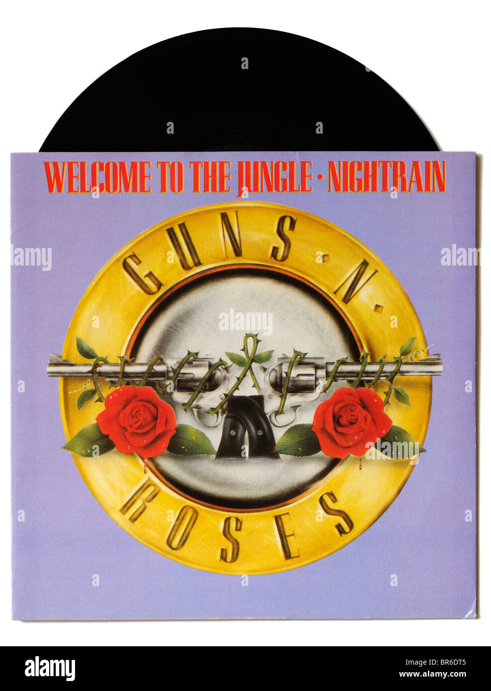 Guns n' Roses Bienvenue dans la jungle seul Photo Stock