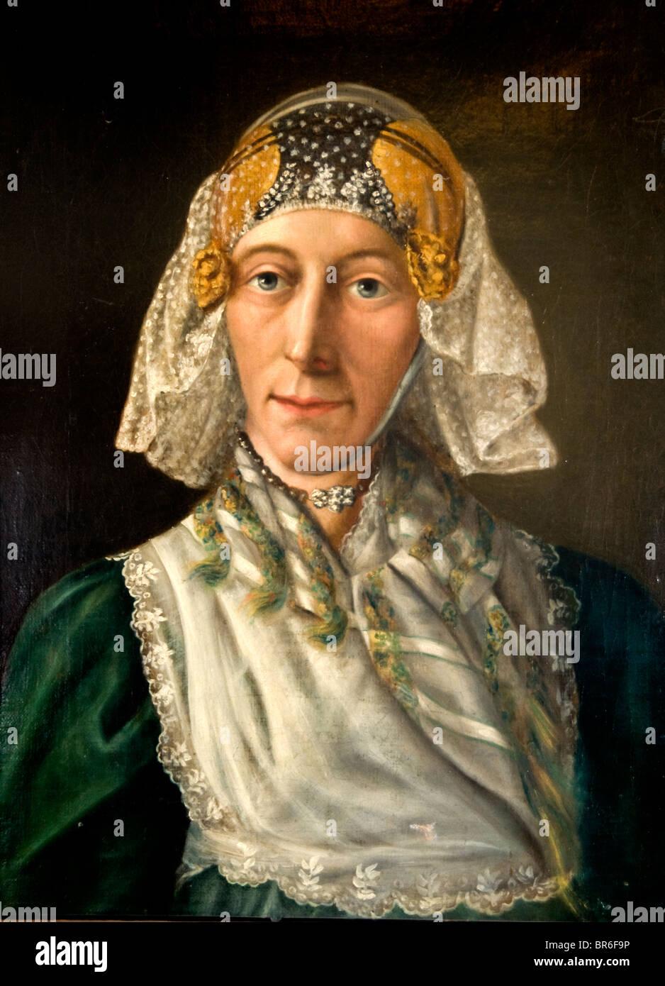 Philip Lodewijk Pays-bas Peinture Munster Fenna Mastenbroek 1826 Sneek Friesland Banque D'Images