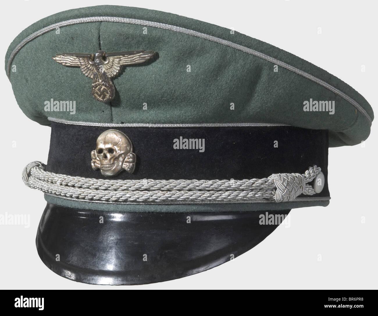 SS-Obergruppenführer von Kamptz - un service pour le général de la Waffen-SS., Fine, avec de la laine Photo Stock