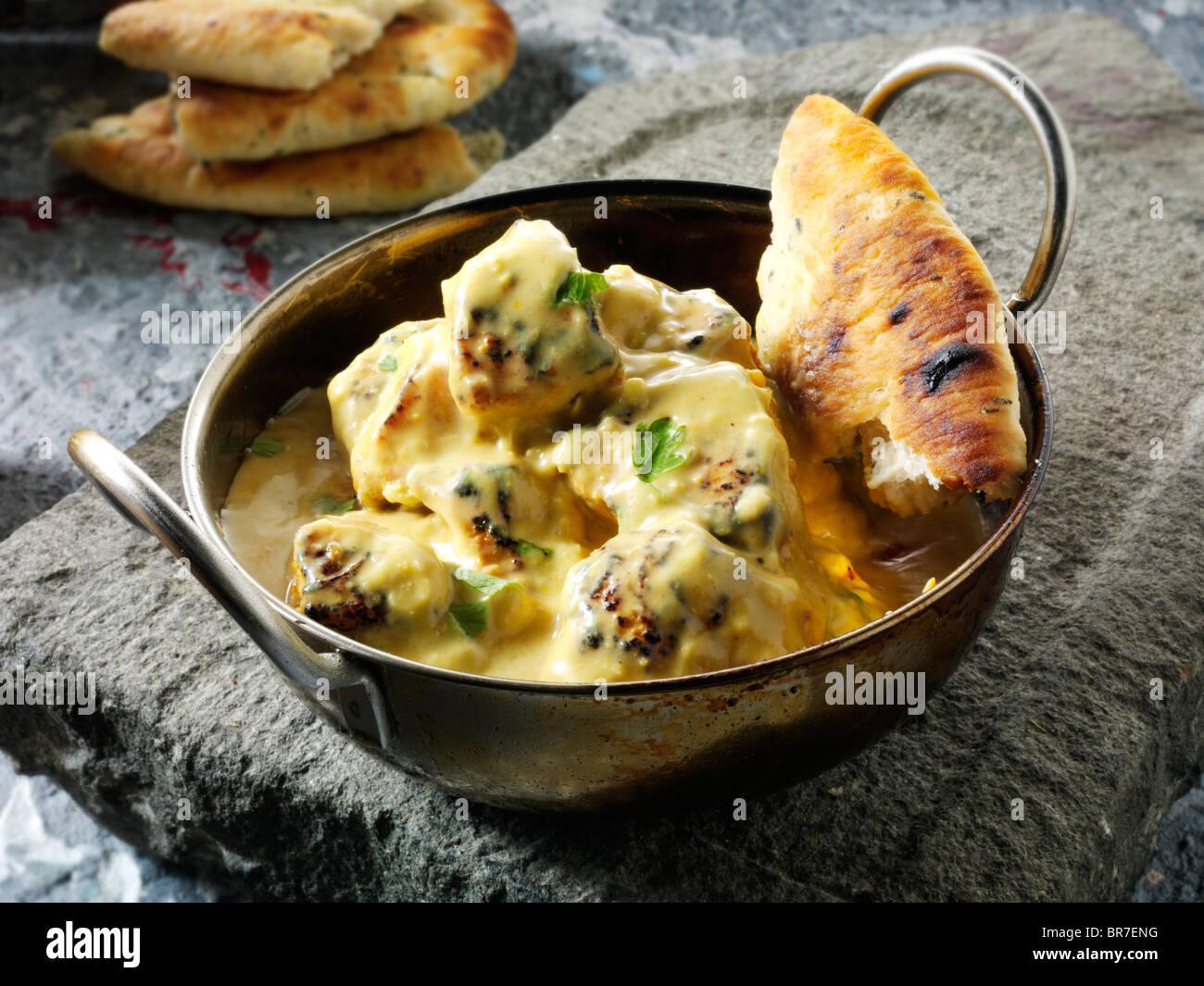 Poulet Korma Et Riz Au Curry Recette De Cuisine Indienne Photos
