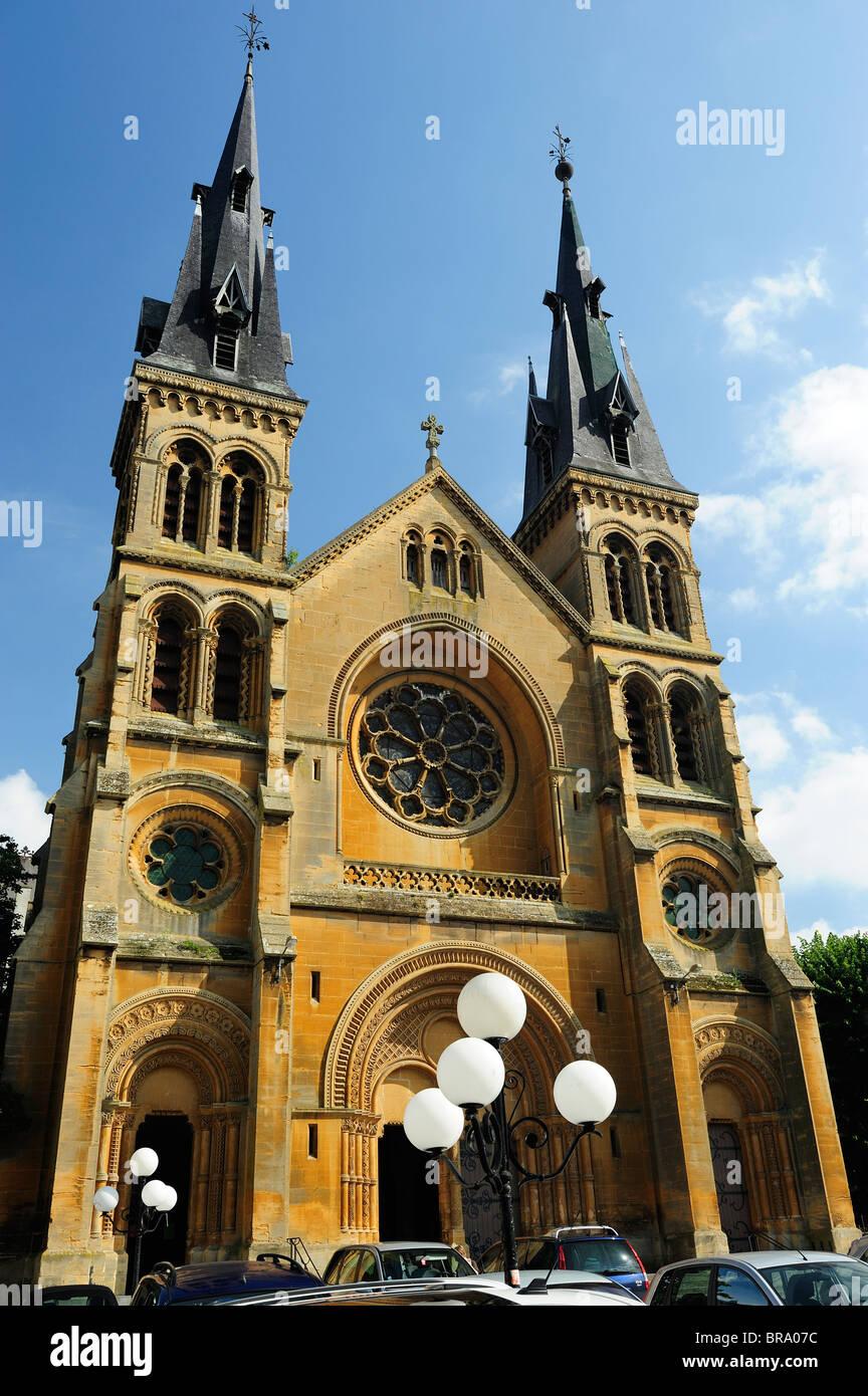 Cathédrale St Remy à Charleville dans la région des Ardennes de France Photo Stock