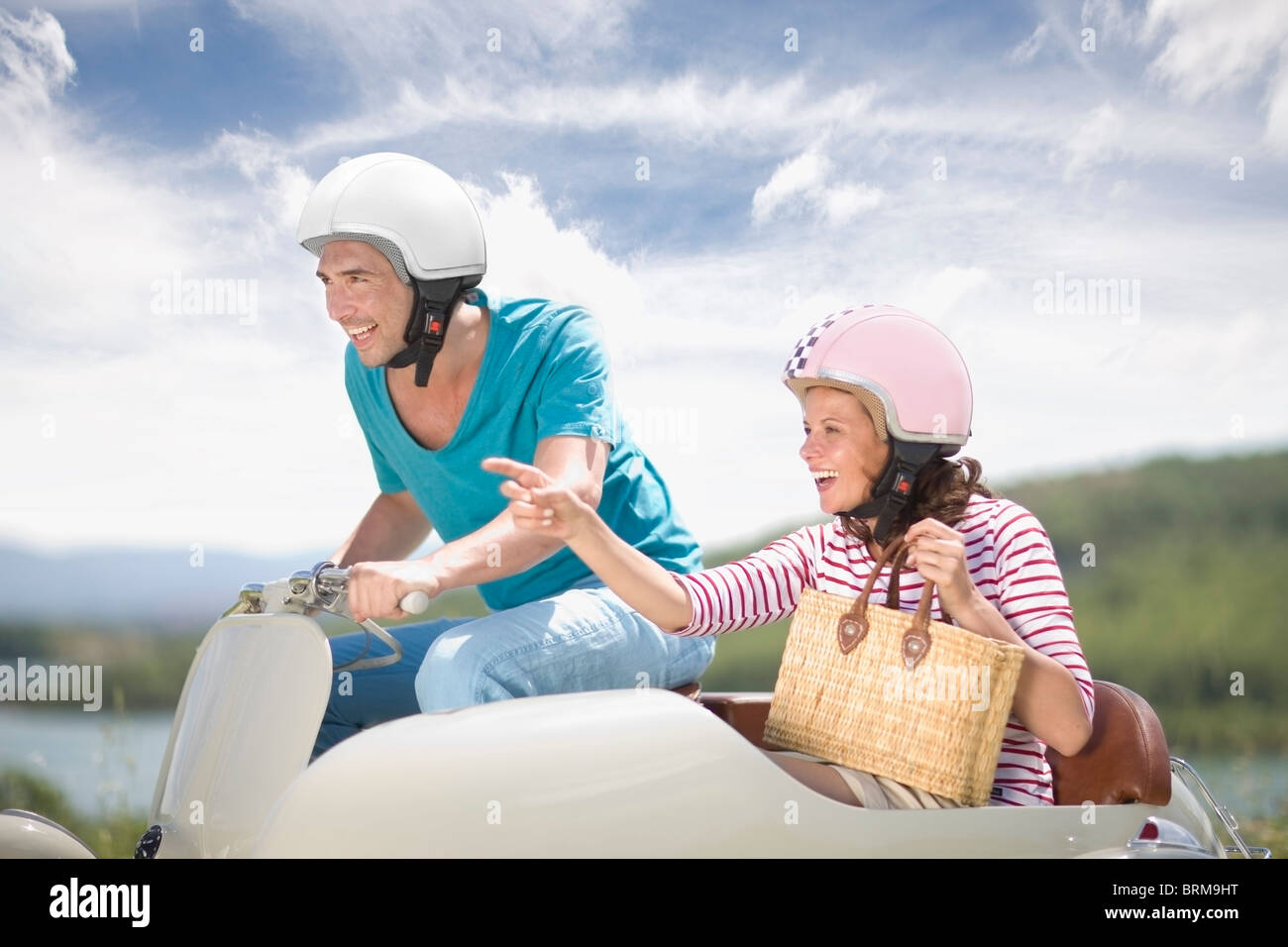 Voyage romantique Photo Stock