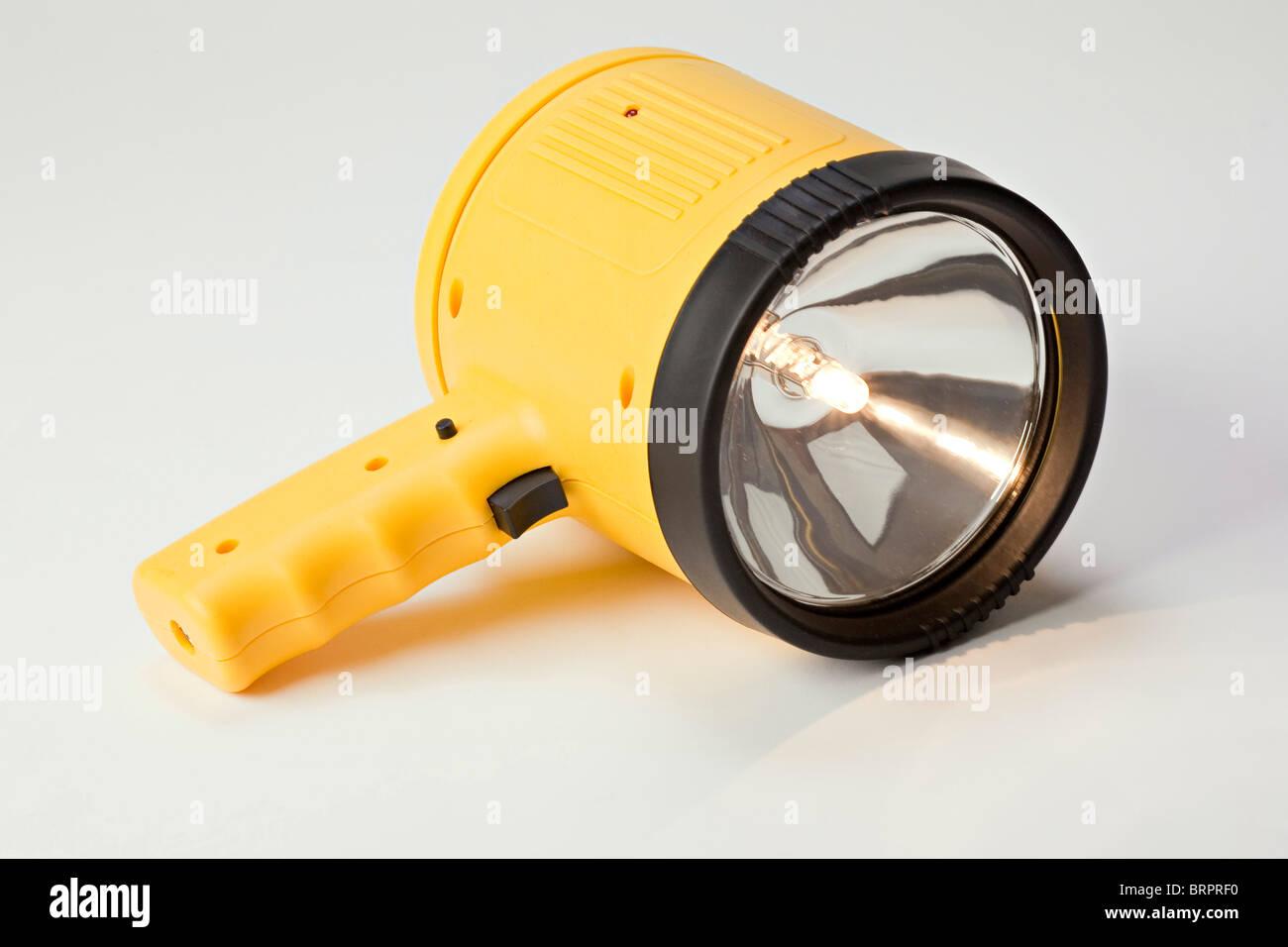 Lampe torche halogène / Photo Stock