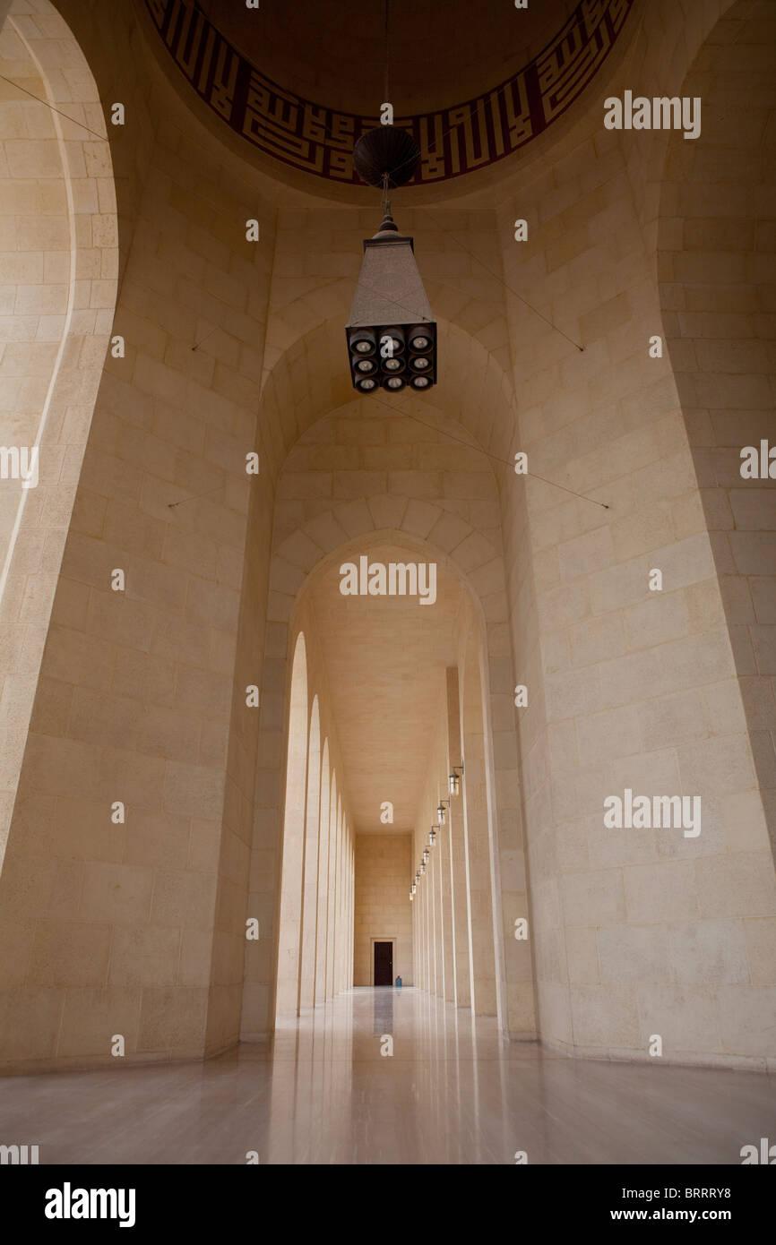 Mosquée Al Fateh au Bahrein Photo Stock