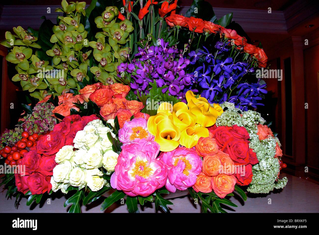 Composition de fleurs Photo Stock