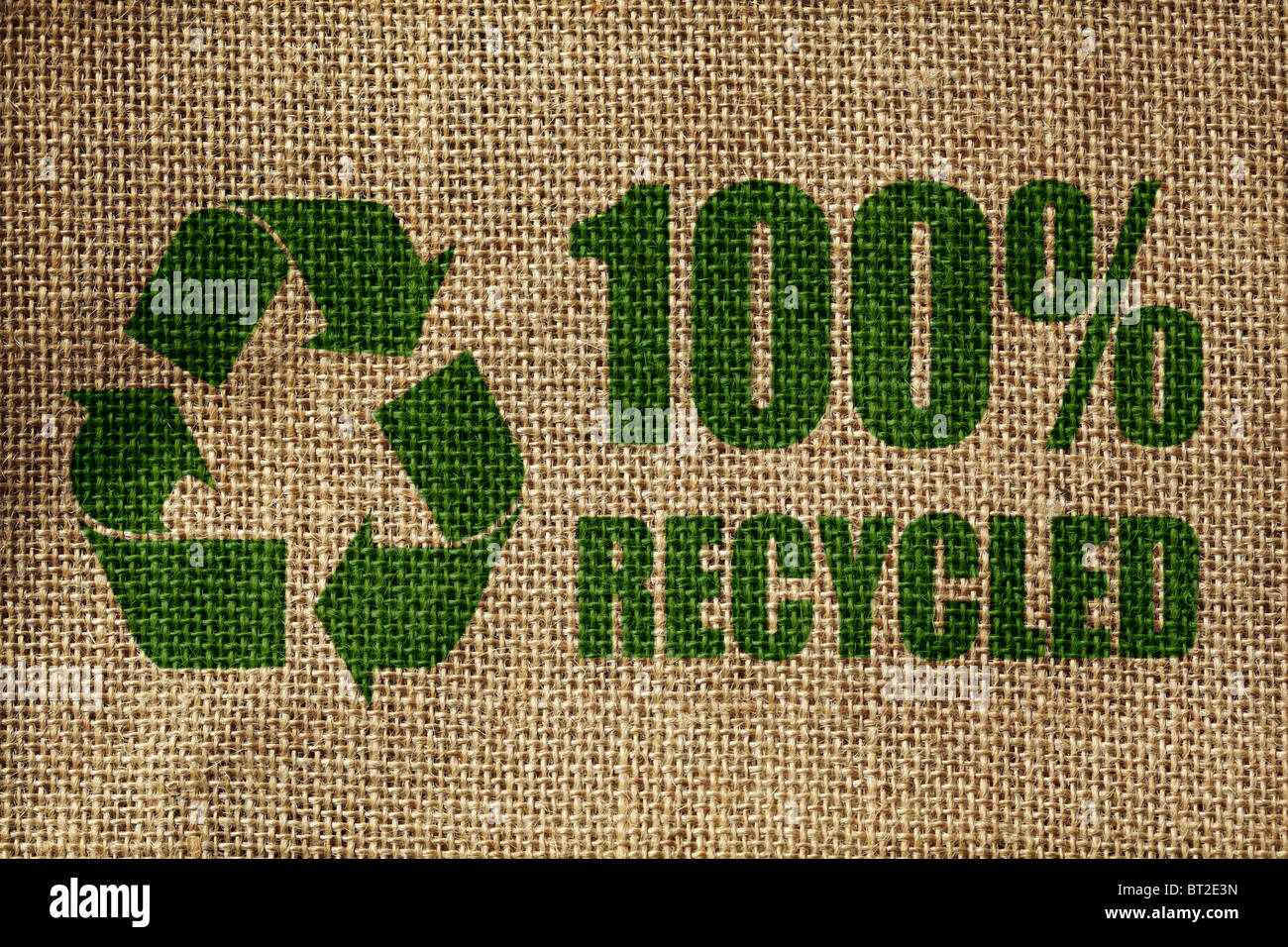 Symbole de recyclage Photo Stock