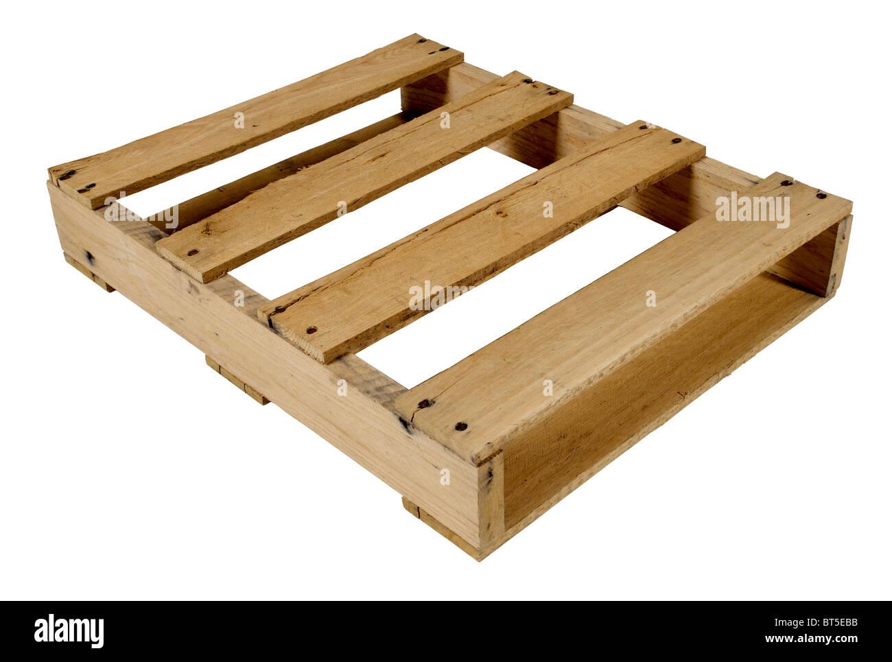 Palette en bois Photo Stock
