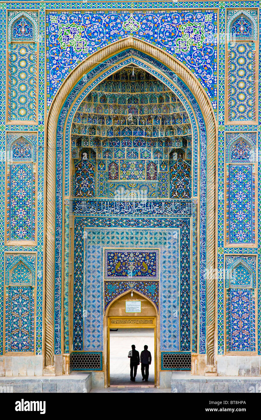 Mosquée Masjid Jame vendredi ou à Kerman, Iran Photo Stock