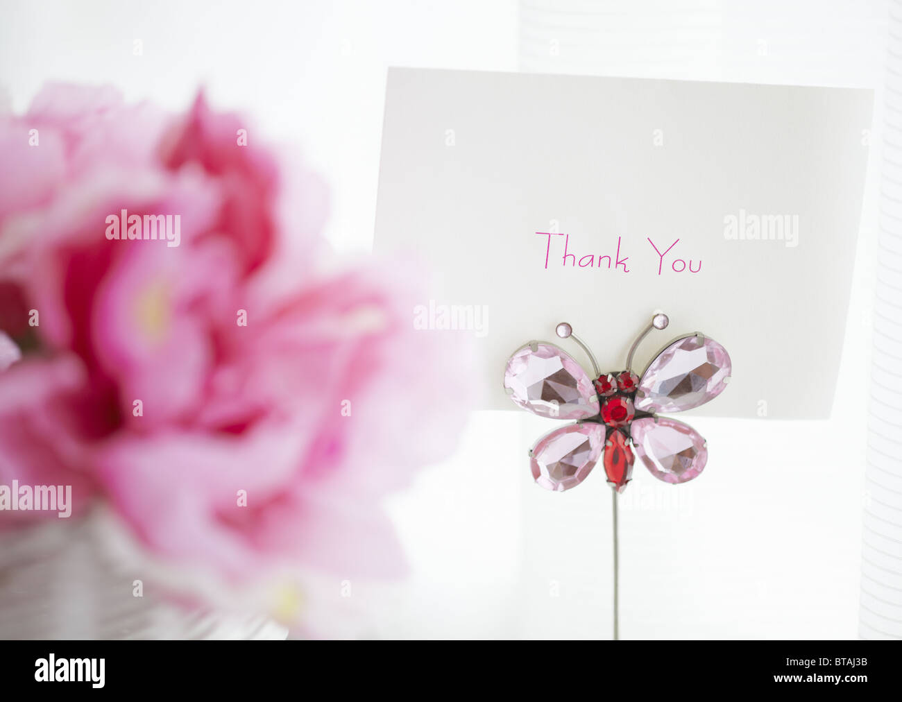 Carte de message Photo Stock