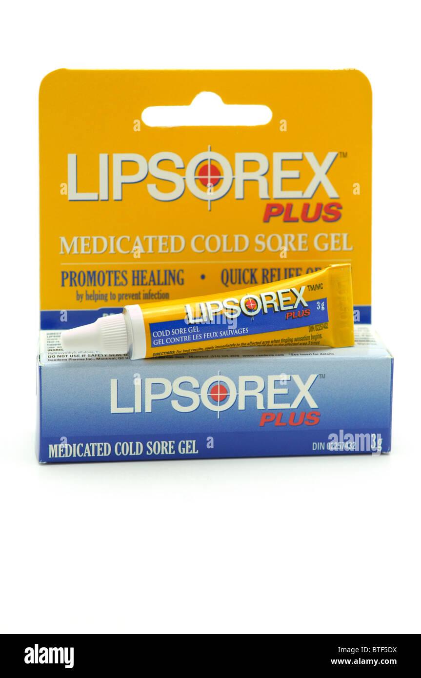 Cold Sore Gel (médicaments) Photo Stock