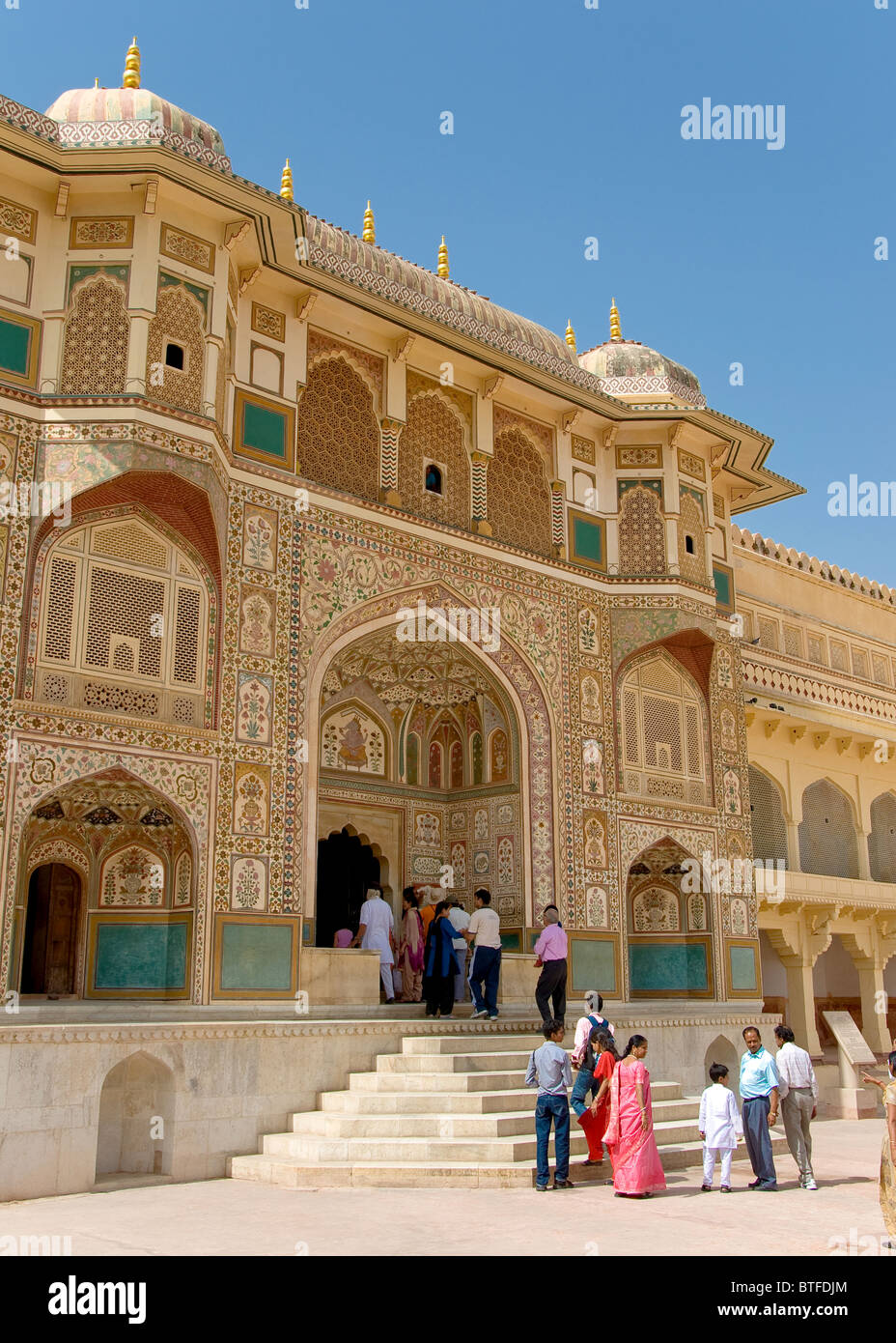 Jaigarh Fort Amber, Jaipur, Rajasthan, Inde Photo Stock