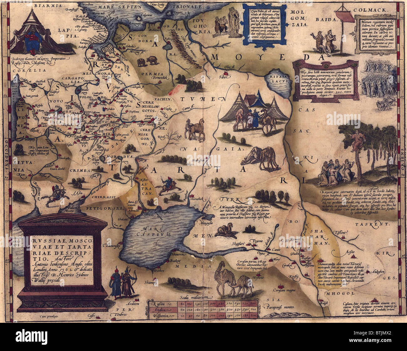 Carte De Leurope Occupee.1570 Carte De La Russie Alors Confine A L Europe Sans Acces A La