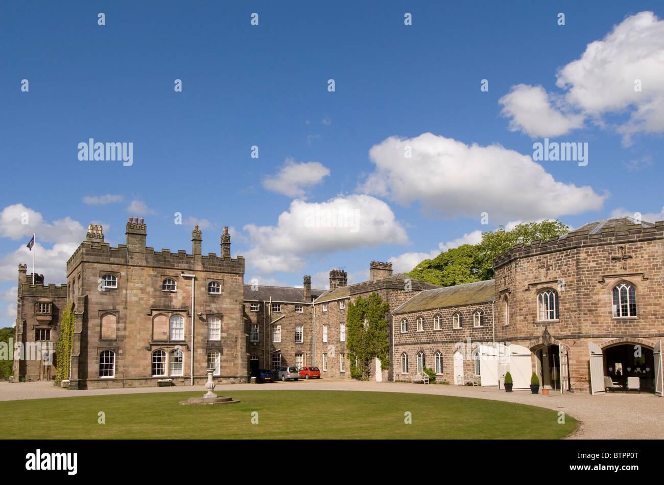 L'Angleterre, Yorkshire du Nord, Ripley Castle Photo Stock