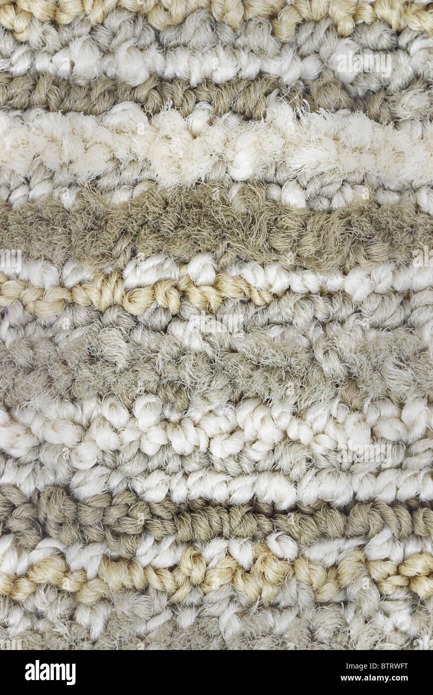 Tapis de fibres synthétiques de l'état de surface et l'arrière-plan Photo Stock