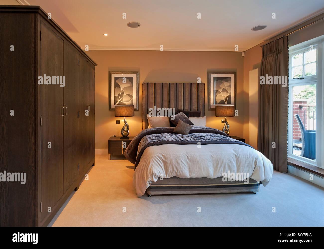 Chigwell Grange des logements de luxe dans l'Essex. Photo Stock