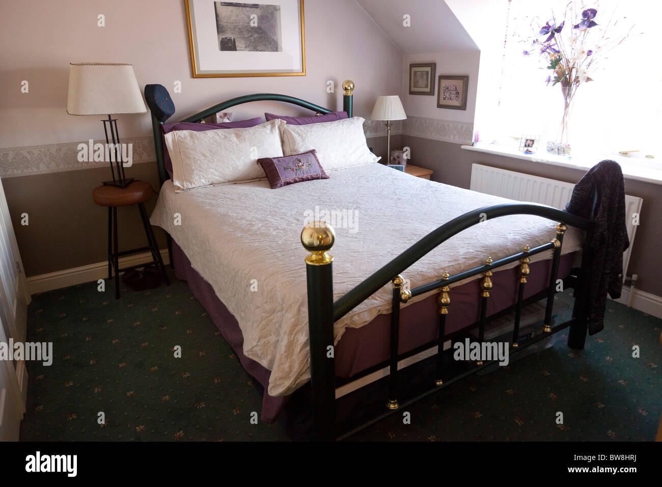 chambre à coucher Photo Stock