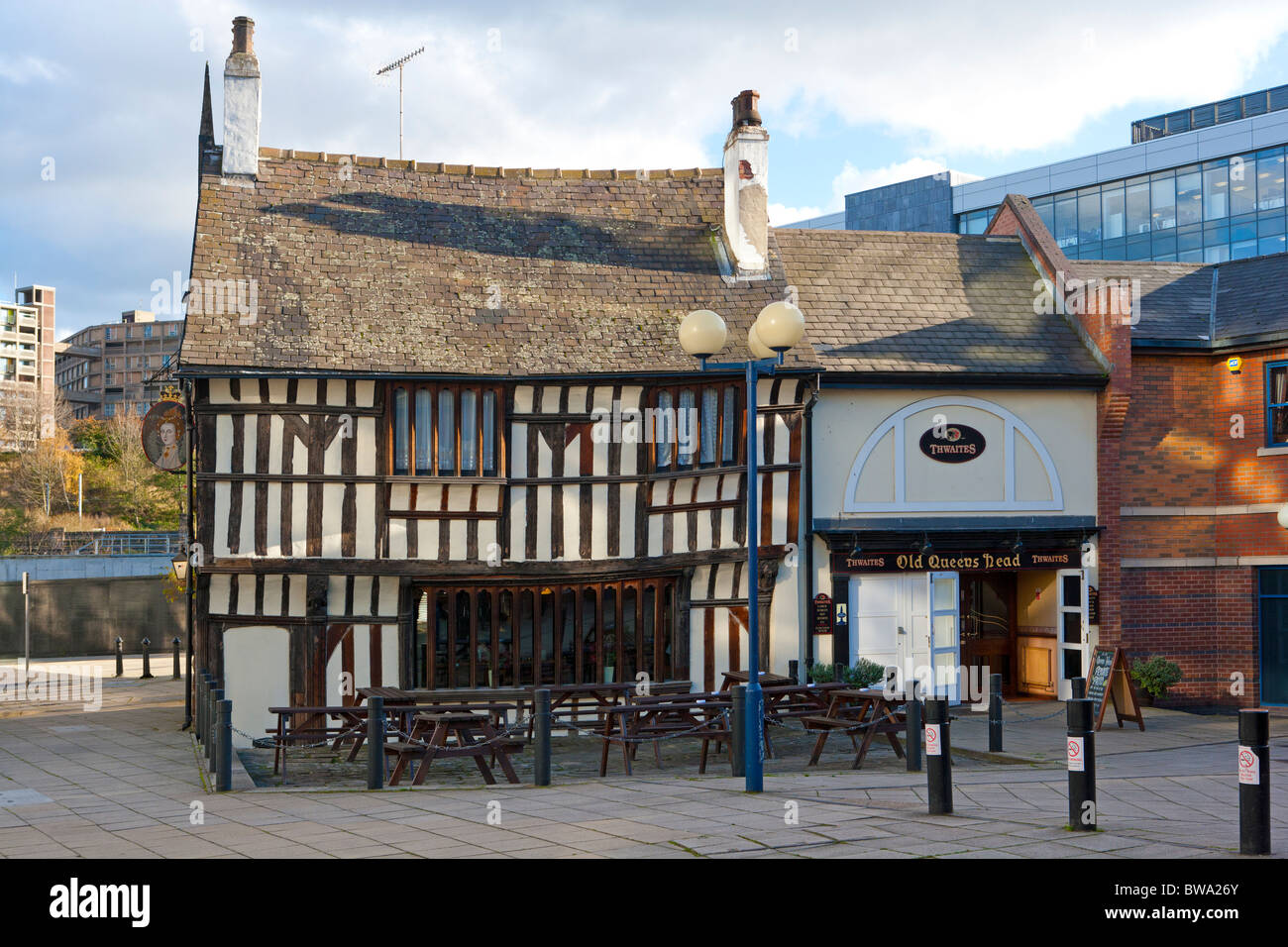 Old Queen's Head, Sheffield Photo Stock