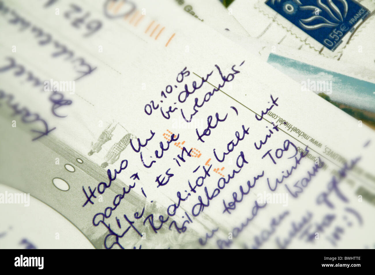 Cartes postales azo datant