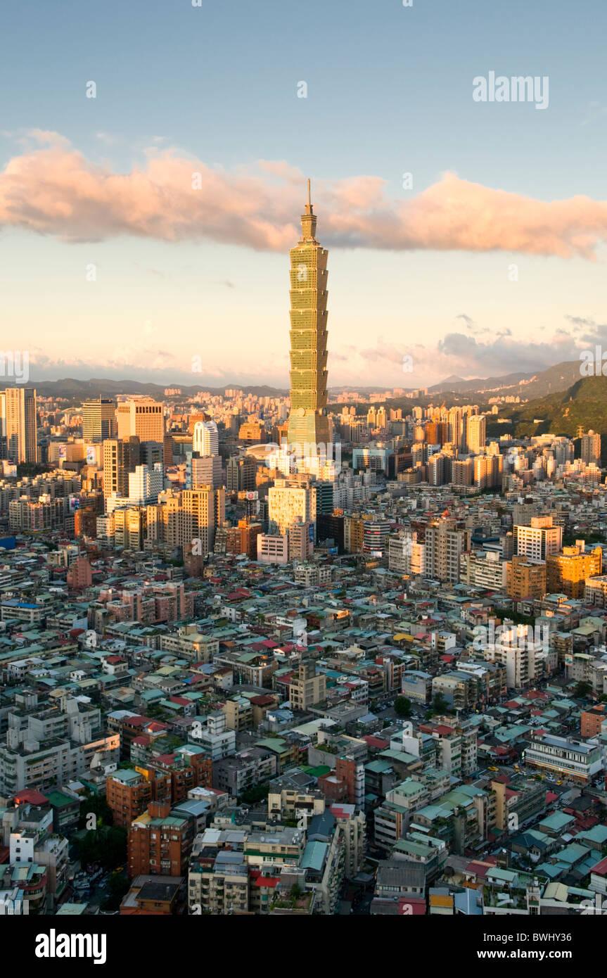 Taipei 101 Taipei Taiwan Photo Stock