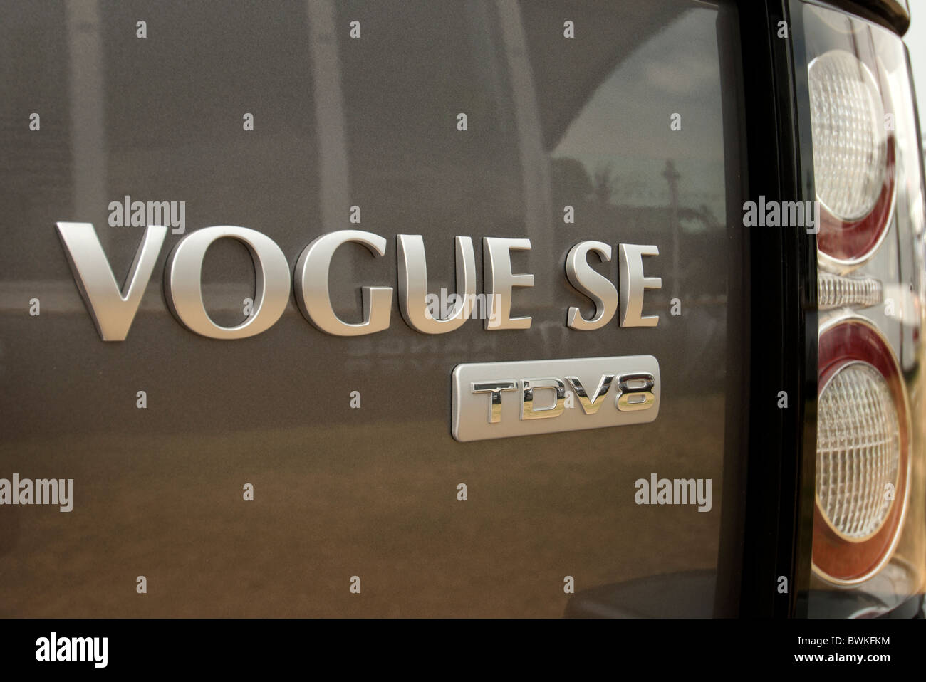 Vogue SE Range Rover Photo Stock