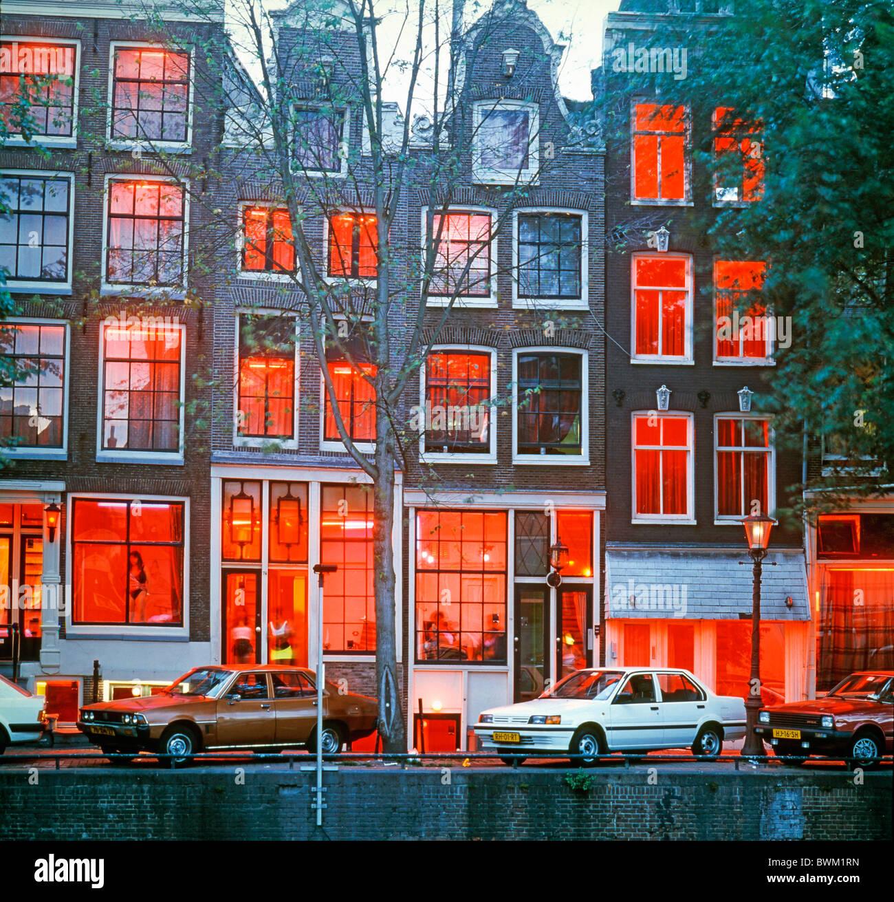 Pays-bas Hollande Europe Amsterdam quartier rouge bordel bordel ...