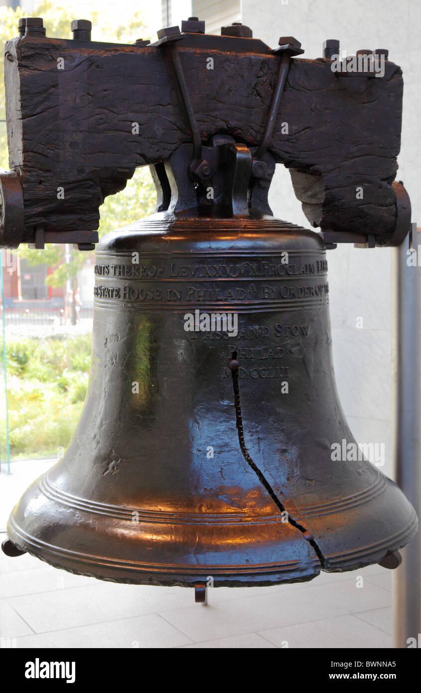 La loi de la liberté de Philadelphie, Pennsylvanie, USA Photo Stock