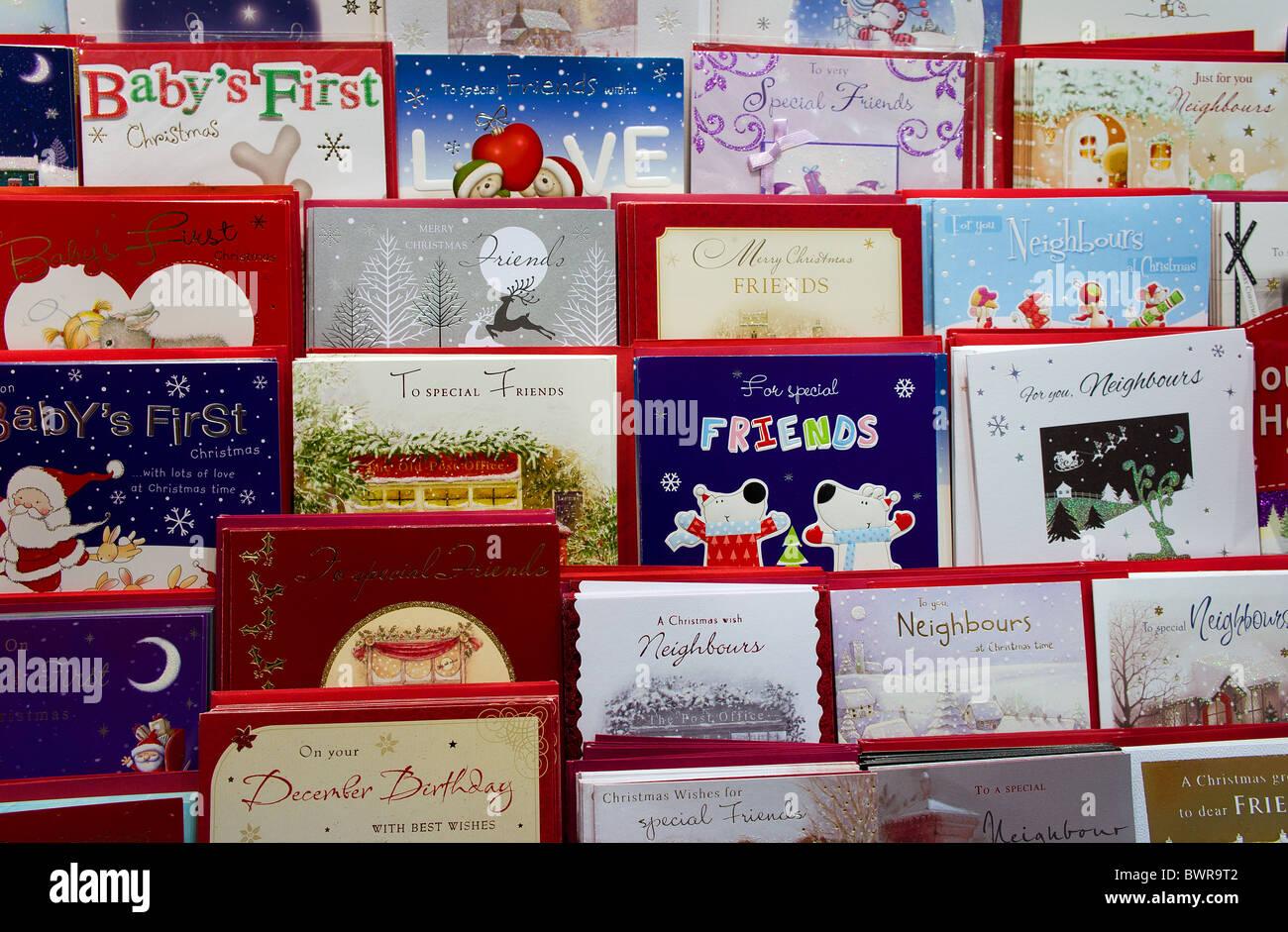 cartes de Noël Photo Stock