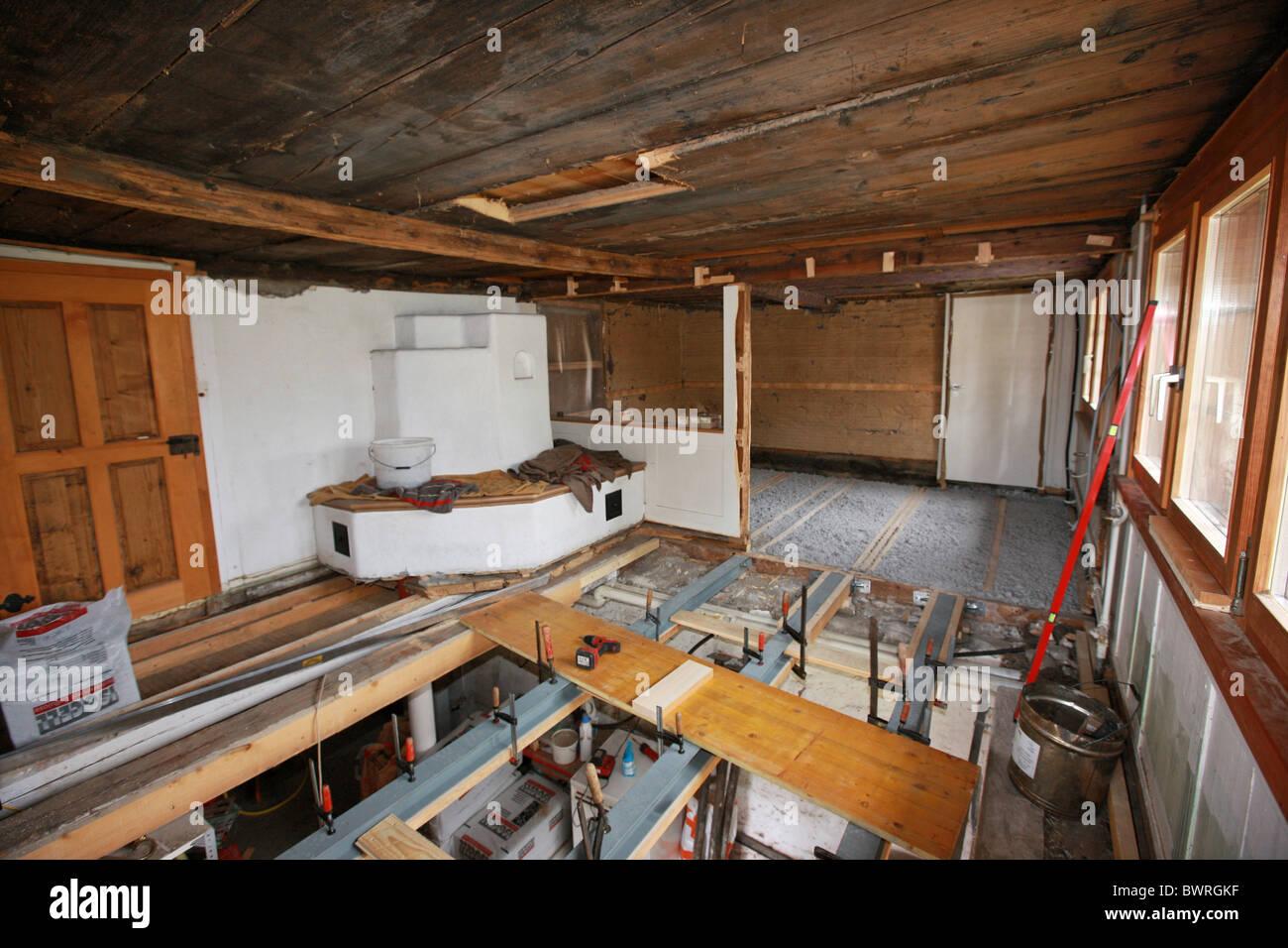 rénovation maison suisse