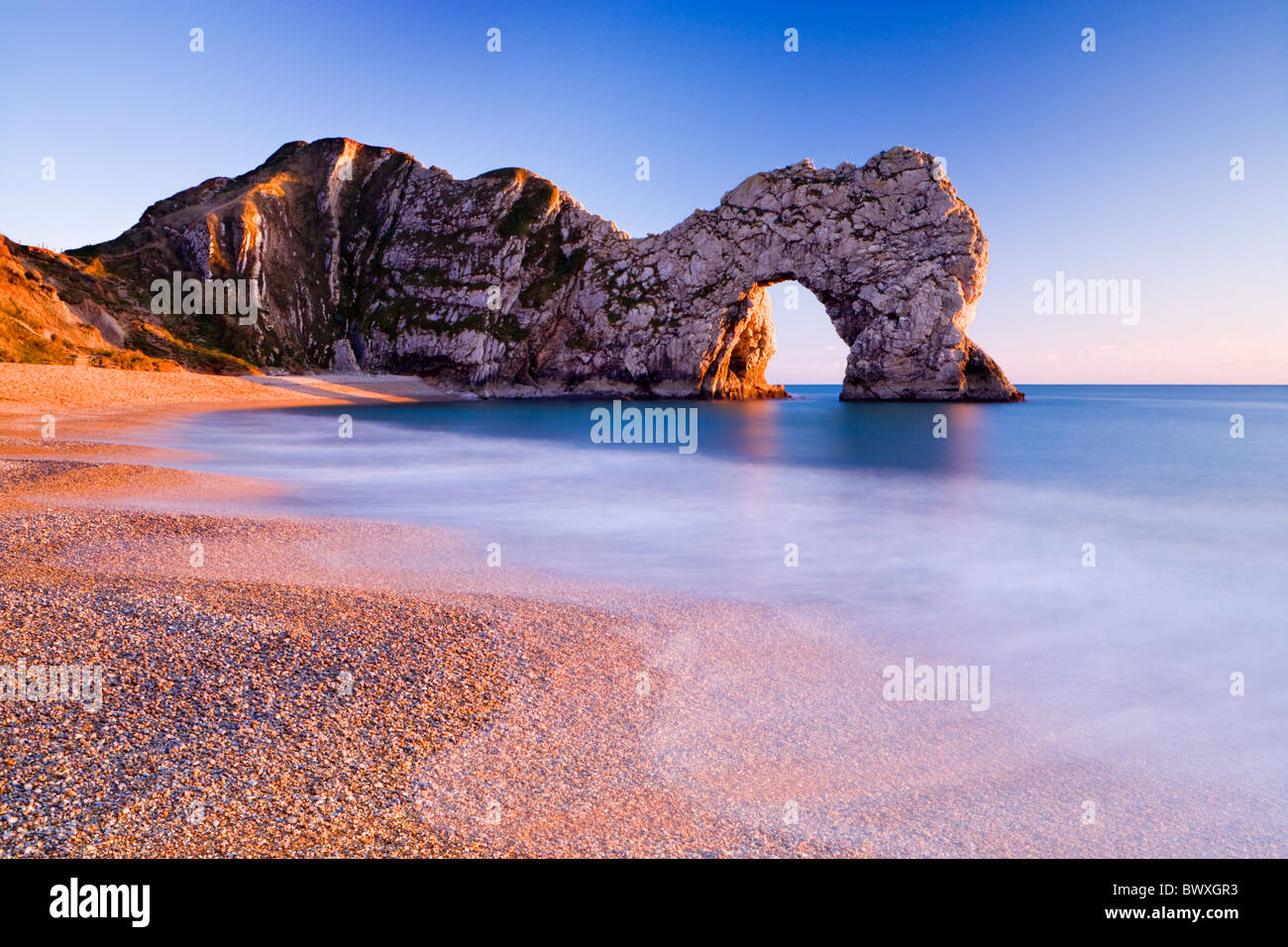 Durdle Door, Dorset, UK Photo Stock