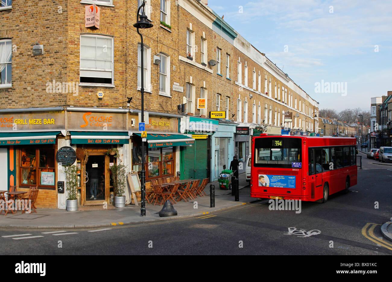Broadway Market, Hackney, Londres, Angleterre Photo Stock