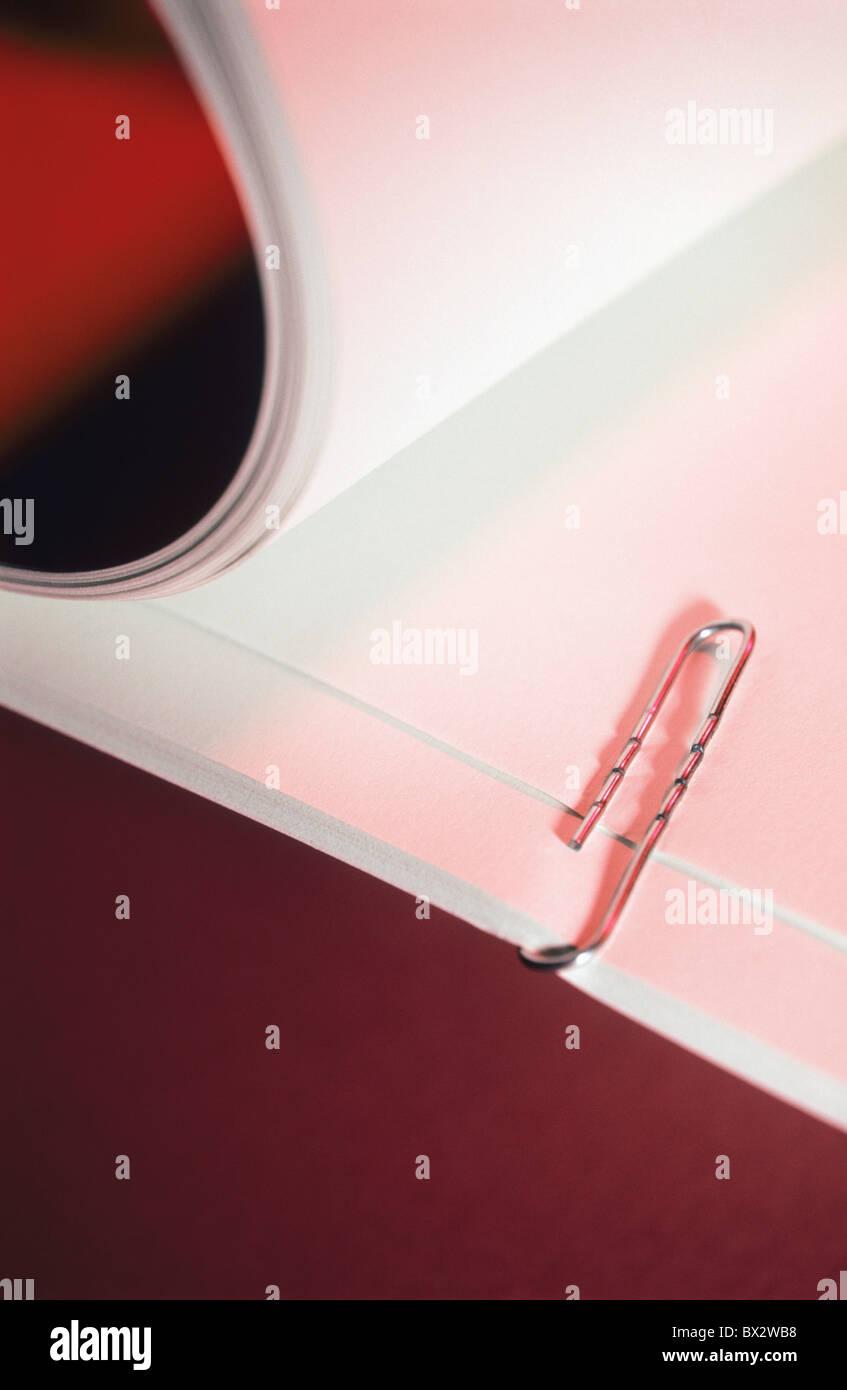 Les Clips Clip Arrangement Close-up Color Color Concept Concepts détail Détails Documents Document Photo Stock