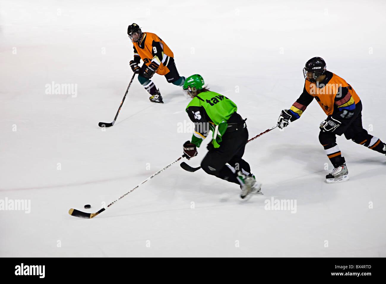 Palau de Gel hockey sur glace Canillo Andorre Photo Stock