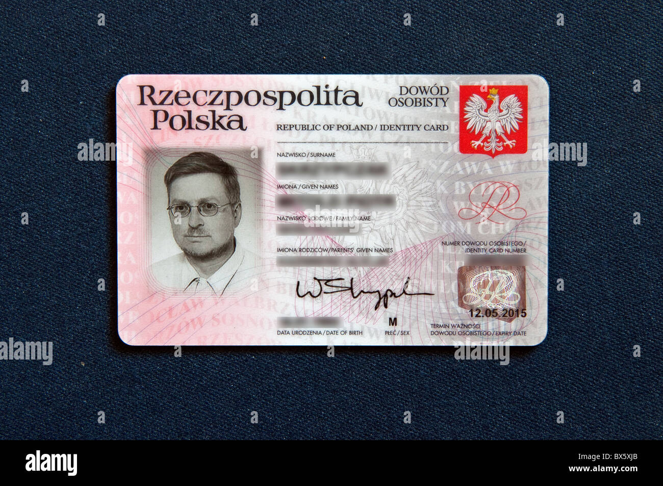 Carte D Identite Europeenne.Carte D Identite Polonaise Valide Pour Voyager Dans Les
