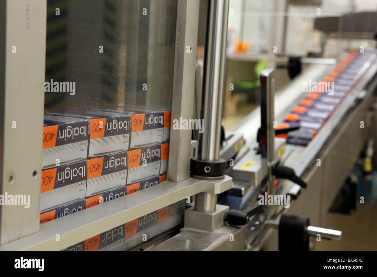 Zentiva, marches d'un fabricant de médicaments génériques. (Photo/CTK Josef Horazny) Photo Stock