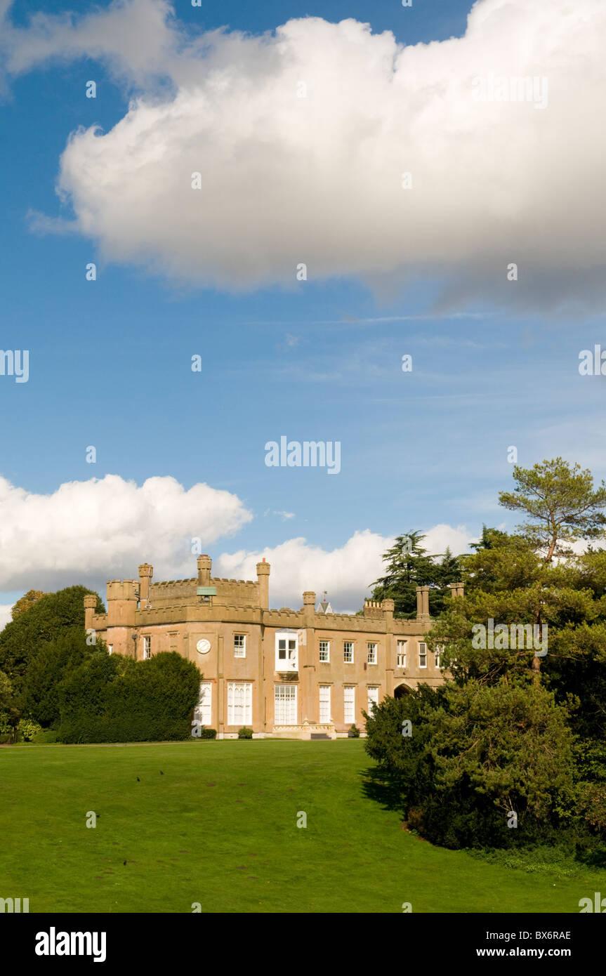 Nonsuch Mansion, un manoir du 16e à Cheam, Surrey, Angleterre Banque D'Images
