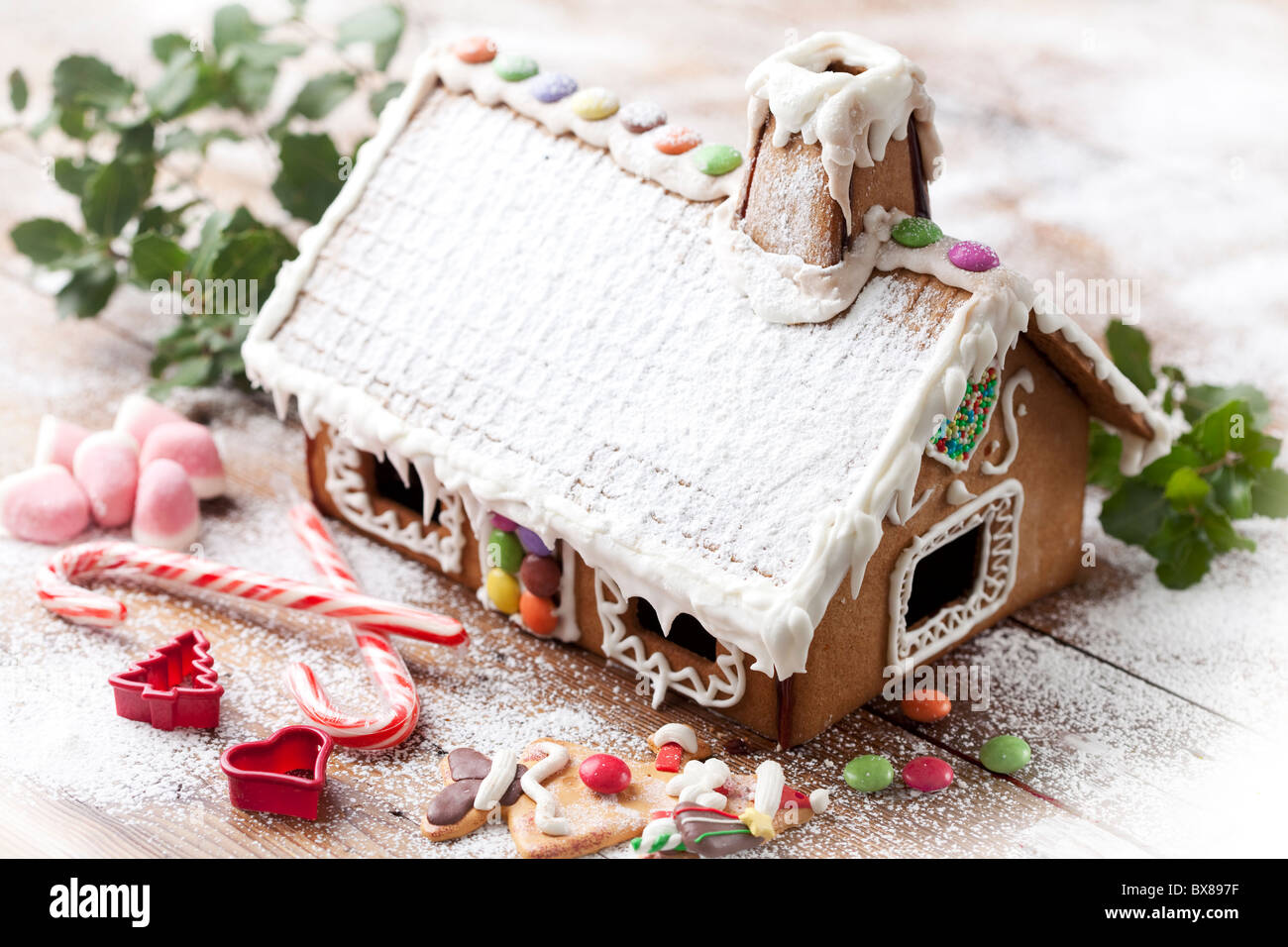 Gingerbread House Photo Stock
