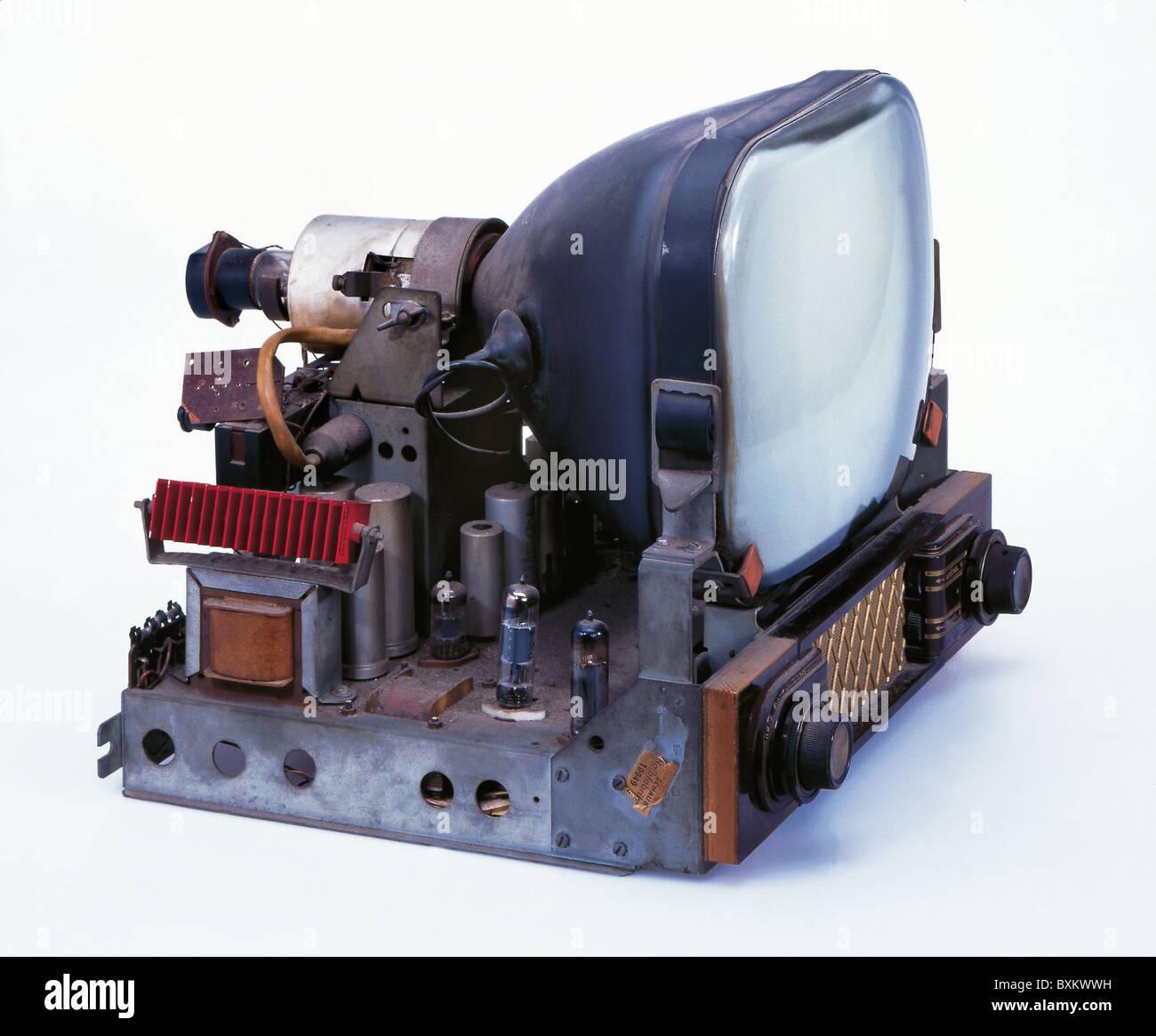 Télévision / diffusion, téléviseurs, illustra Schaub FE T, châssis sans cas, Allemagne, Photo Stock