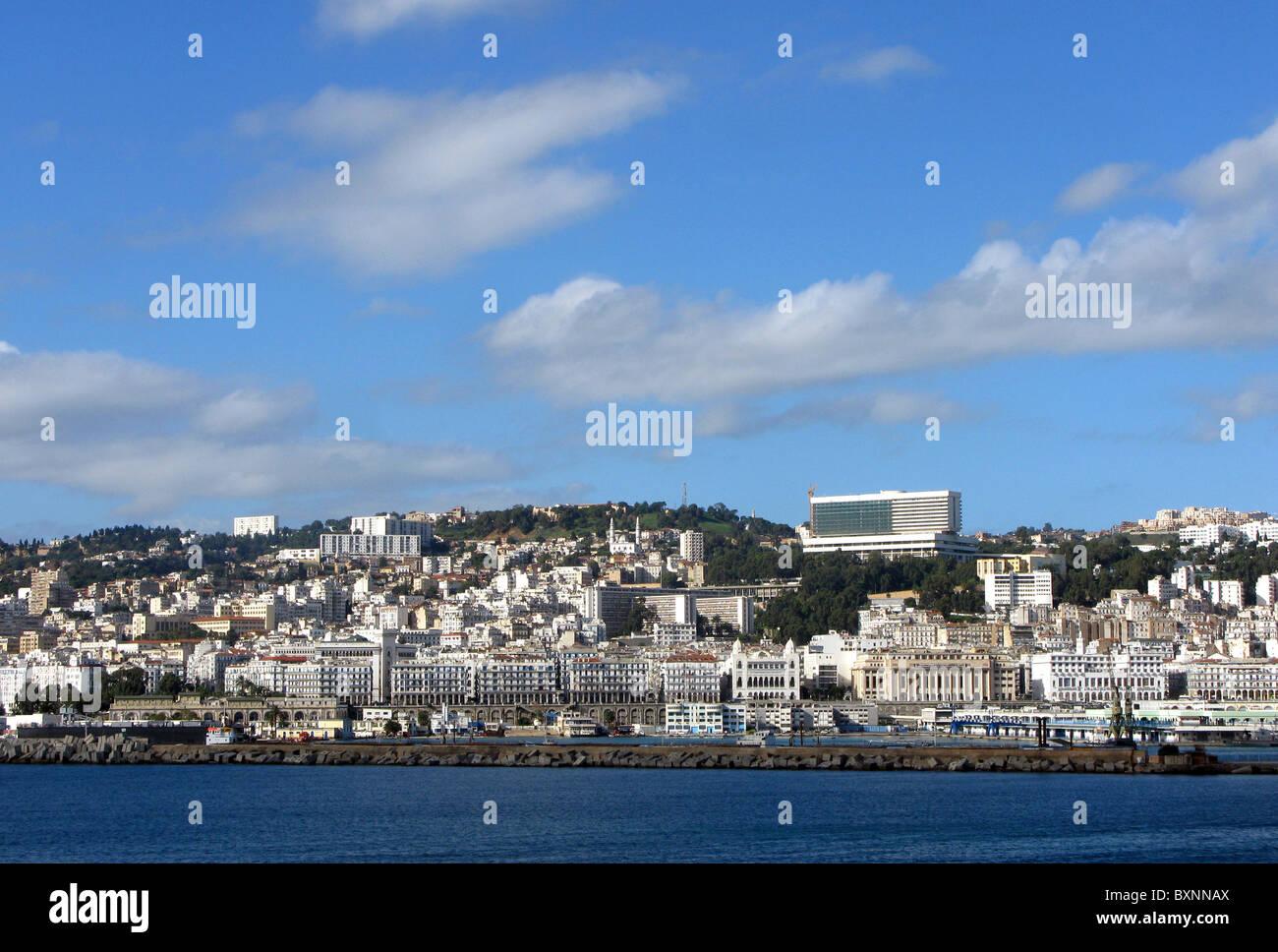 Alger, Ville d'Alger en Algérie, l'Afrique du Nord Photo Stock