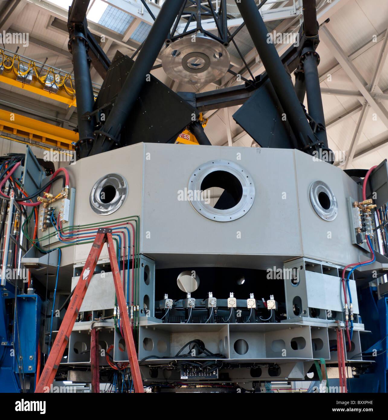La partie supérieure de la structure du télescope Canal découvrir près de Flagstaff, Arizona Photo Stock