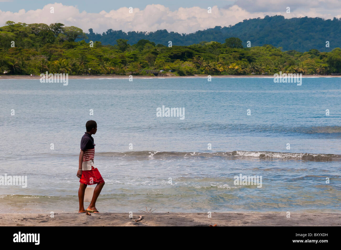 Plage Puerto Viejo Costa Rica Photo Stock