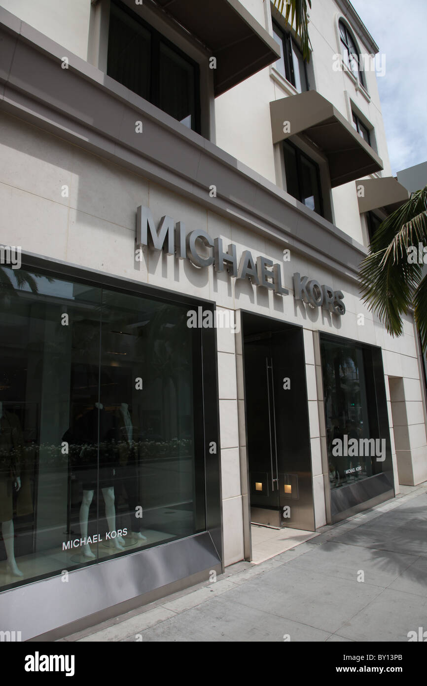 1055dd338d MICHAEL KORS BEVERLY HILLS 360 N. RODEO DRIVE BEVERLY HILLS CALIFORNIE USA LOS  ANGELES STORE