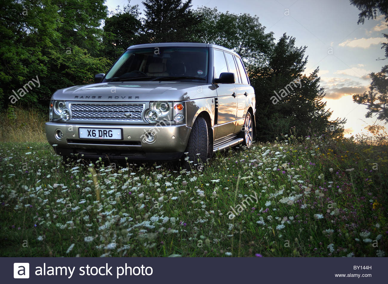 Range Rover Vogue Photo Stock