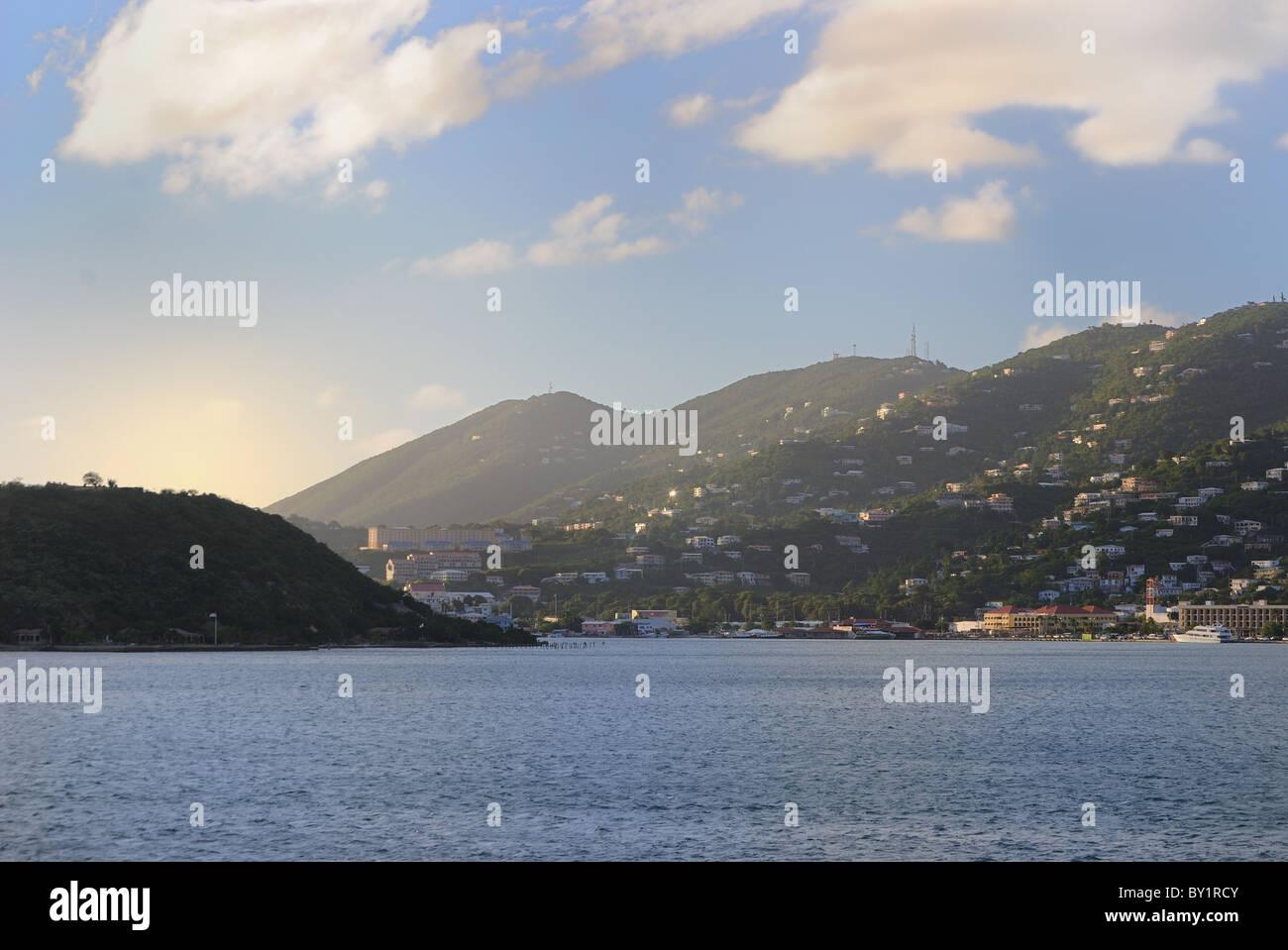 Le paradis vous attend à St Thomas, Îles Vierges des États-Unis. Photo Stock