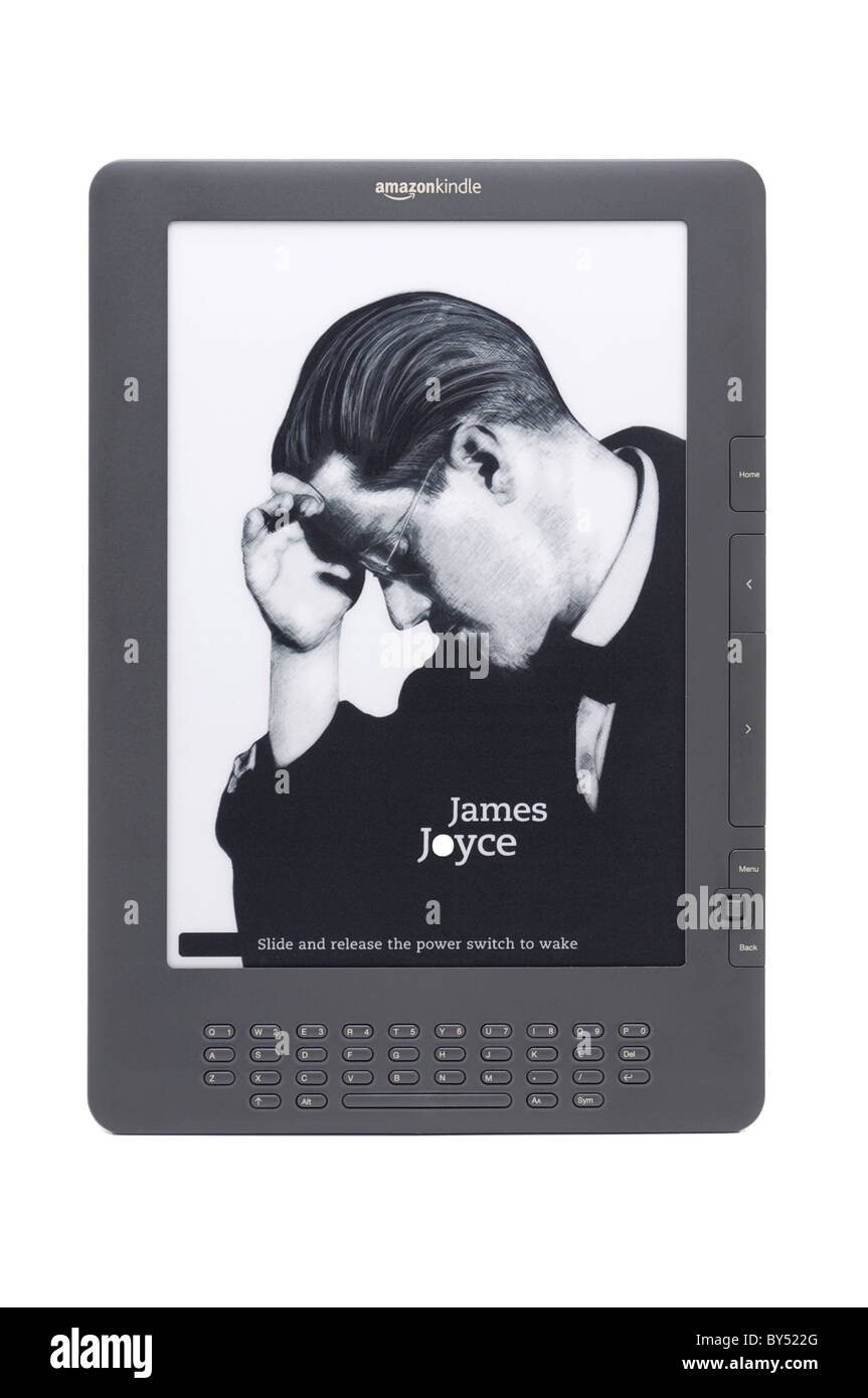 EBook Reader, Amazon Kindle DX 9.7' dernière génération Photo Stock
