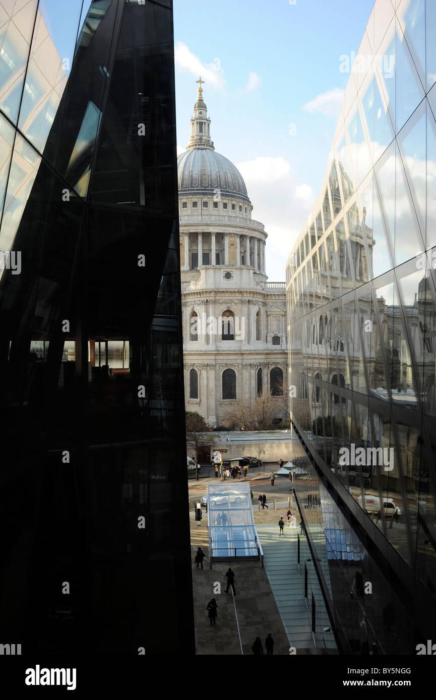Un nouveau centre commercial, Londres Banque D'Images
