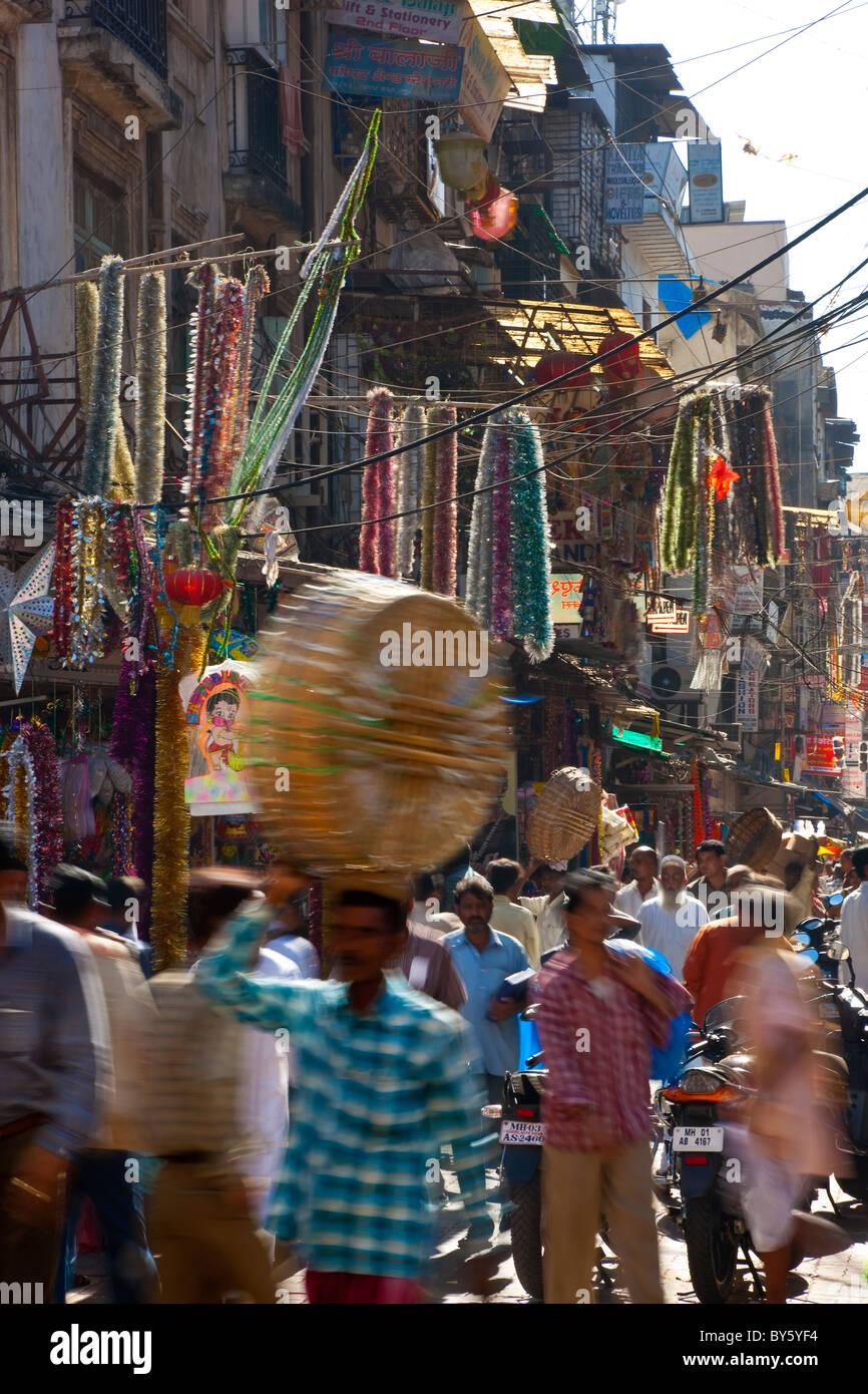 Marché Crawford, Mumbai (Bombay) Inde Photo Stock