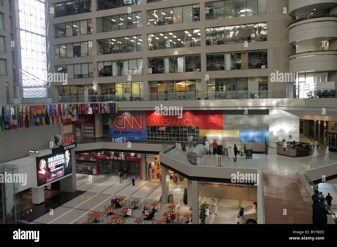 Atlanta géorgie cnn center atrium store shopping en espanol cnn