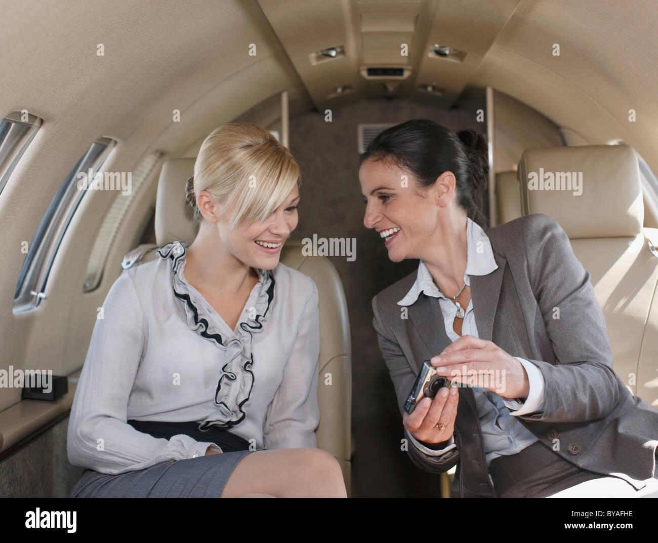 Soutenu businesswomen Photo Stock