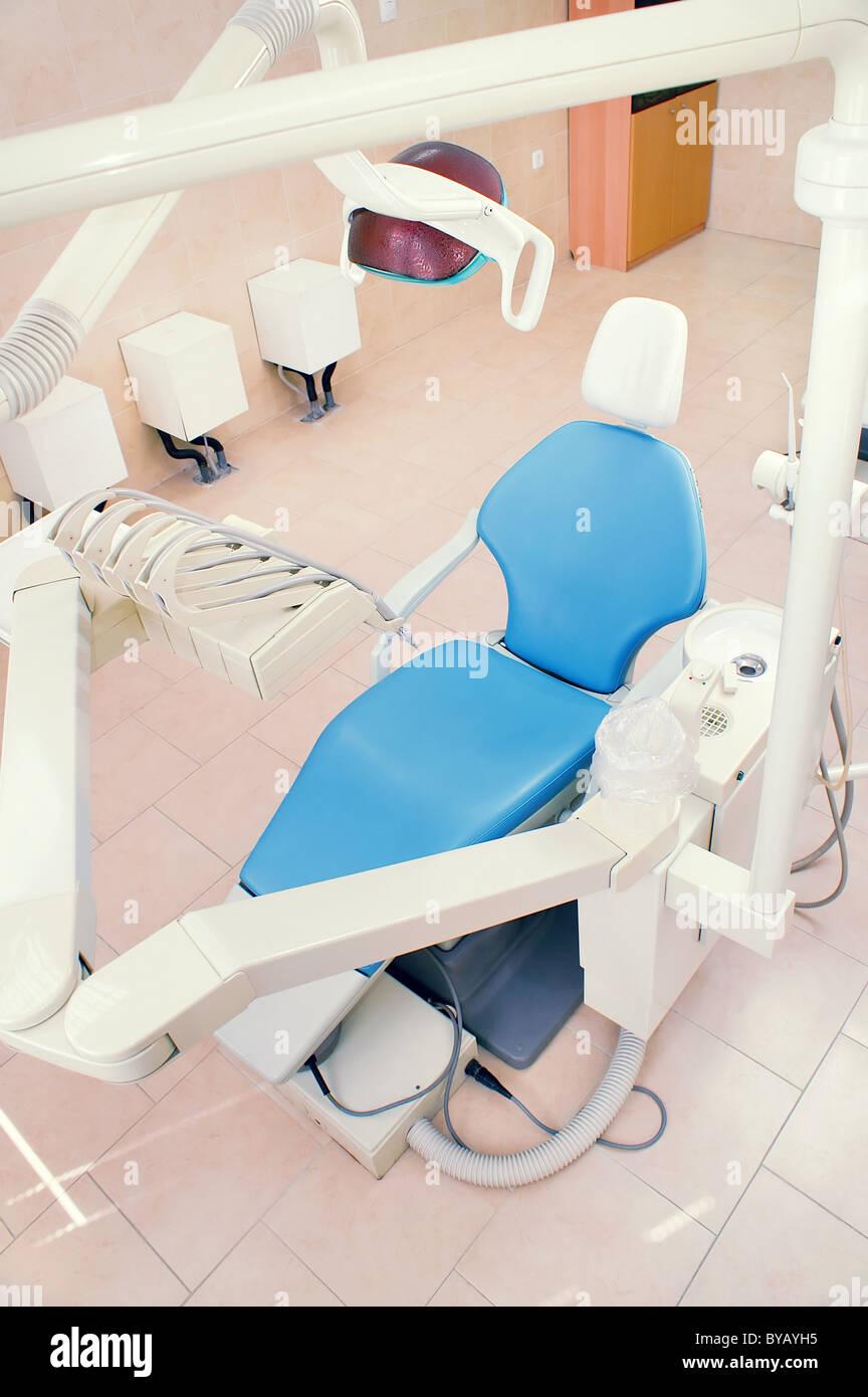 Intérieur d'une clinique dentaire Photo Stock